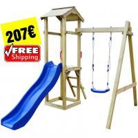 Spielplatz Set Rutsche Schaukek 207€ versandkostenfrei