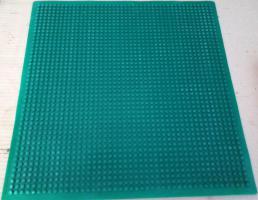 Foto 2 Spielzeug Montage Bauplatte Gummi grün mit 32 x 32 Noppen kompartibel mit Lego