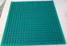 Foto 3 Spielzeug Montage Bauplatte Gummi grün mit 32 x 32 Noppen kompartibel mit Lego