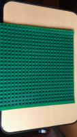 Foto 4 Spielzeug Montage Bauplatte Gummi grün mit 32 x 32 Noppen kompartibel mit Lego