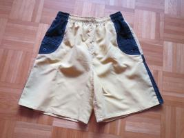 Sporthose/ Short/ Badehose, Gr.38/S, gelb-schwarz