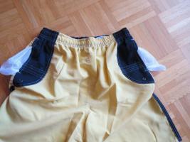 Foto 3 Sporthose/ Short/ Badehose, Gr.38/S, gelb-schwarz