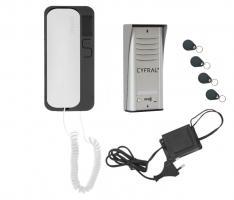 Sprechanlage 1 Familie Türsprechanlage RFID Schlüssel Beleuchtung Klingelanlage