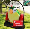 Sprechender Papagei spricht redet Spielzeug Plüsch Vogel Geschenk Kind Kinderzimmer Weihnachten