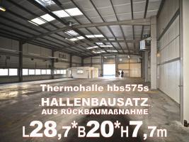 Stahlhalle gebraucht Stahlbauhalle abzubauen remontierbare Gebrauchthalle kaufen demontierbare Halle