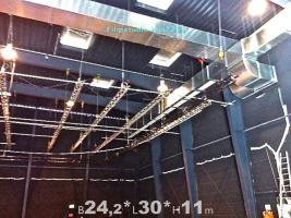 Foto 3 Stahlhalle gebraucht Stahlbauhalle abzubauen remontierbare Gebrauchthalle kaufen demontierbare Halle