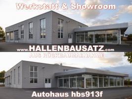 Foto 4 Stahlhalle gebraucht Stahlbauhalle abzubauen remontierbare Gebrauchthalle kaufen demontierbare Halle