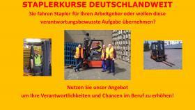 Staplerfüherschein Staplerfahrer Staplerkurs  in MÜNCHEN - SZFL