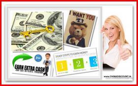 Starten Sie Geld verdienen $$  €€ heute! Ihr Schlüssel ist hier!