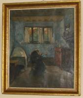 Stefaan de Cnodder-1878-1943-/BE/-Oil auf Linnen