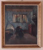 Foto 3 Stefaan de Cnodder-1878-1943-/BE/-Oil auf Linnen