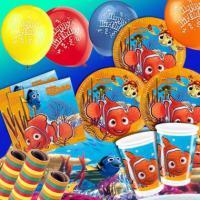 Nemo Mottoparty Set Fuer Bis Zu 8 Kids 49 Teilig RE 11125 1