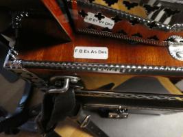 Foto 5 Steirische Harmonika 5-reihig, Strasser de Luxe E, F-B-Es-As-Des, Vollmidi, Funk