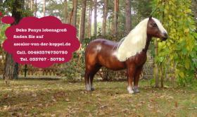 Foto 2 Stell Dir vor so ein Deko Pferd steht in Deinen Schaufenster was glaubst Du bleiben die Kunden stehn oder nicht ?