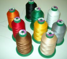 Stickgarn Amann Isacord 5000m verschiedene Farben