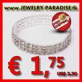 Strass-Stretch-Armband nur € 1,75 versandkostenfrei
