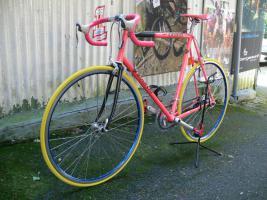 Foto 7 Straßenrennrad von BIANCHI , 18 Gang - Kette von SHIMANO - EXAGE