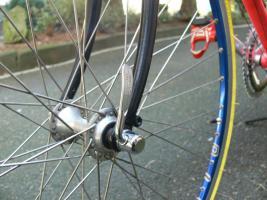 Foto 23 Straßenrennrad von BIANCHI , 18 Gang - Kette von SHIMANO - EXAGE
