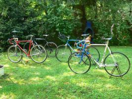 Foto 25 Straßenrennrad von KTM , 14 Gang - Kette von SHIMANO - 105