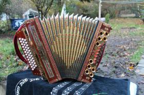 Strasser Steirische Harmonika Stimmung A D G C