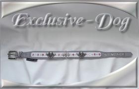Foto 3 Strasshalsbänder Lederhalsbänder Strass-Halsband mit SWAROVSKI ELEMENTS ENGEL PUTTE