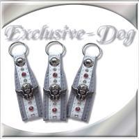 Foto 4 Strasshalsbänder Lederhalsbänder Strass-Halsband mit SWAROVSKI ELEMENTS ENGEL PUTTE