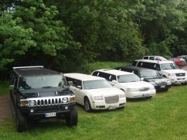 Foto 6 Stretchlimousine mieten Limousinenservice Chauffeurservice Hochzeitsauto
