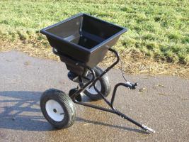 Streuwagen für Rasenmähertraktor  oder Quad
