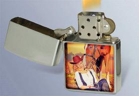 Foto 3 Sturmfeuerzeug-Set mit Ihrem Foto in 3D-Effekt