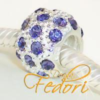 Style Bead Lilac Snow 925 Sterling Silber, Zirkonia