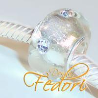 Style Bead Silver Glitter