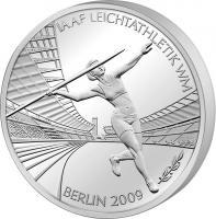 Suche 10 Euro Münze Leichtatletik WM 2009