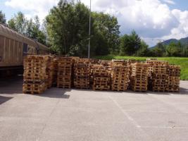 Suche Einwegpaletten 80x120cm bei Linz