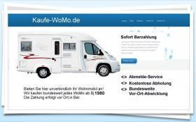 Suche Voll- oder Teilintegr. Wohnmobile