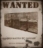 IBC Gestelle gesucht