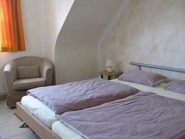 Eines der 3 Schlafzimmer
