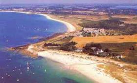 Foto 13 Süd-Bretagne: Sehr schönes freistehendes Ferienhaus 350m vom Strand, 100qm, 3 SZ, offener Kamin