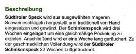 Foto 3 Südtiroler Speck am Stück