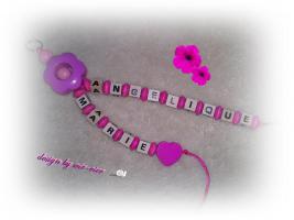 Foto 5 Süße Schnullerketten oder Namensbänder