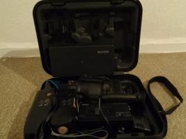 Foto 7 Super 8 Kamera - Rekorder CCD F450E Sony+Beschreibung+Koffer+u.a
