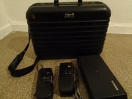 Foto 12 Super 8 Kamera - Rekorder CCD F450E Sony+Beschreibung+Koffer+u.a