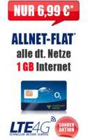 Super O2 Allnetflat in Alle Deutschen Netze für 6,99€