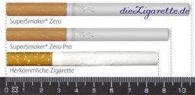 SuperSmoker die einzigartige elektronische Zigarette als Weihnachtsgeschenk (weltweit einzigartig mit einem echten Papierfilter)