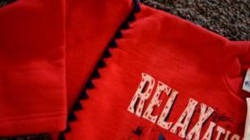 Foto 3 Sweatshirt, Gr. 104, #rot-dunkelblau, #NEU, #Dixi-Mixi