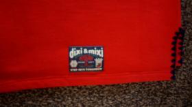 Foto 6 Sweatshirt, Gr. 104, #rot-dunkelblau, #NEU, #Dixi-Mixi