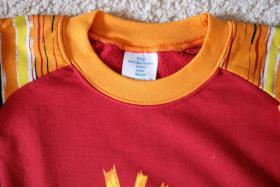 Foto 2 #Sweatshirt, Gr. 110, #NEU, #kirschrot-orange-gelb, #Jacky