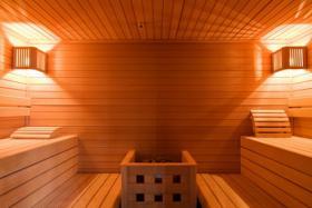 Foto 6 Swimmingpool + Sauna verwöhnen Sie in exclusivem Ambiente