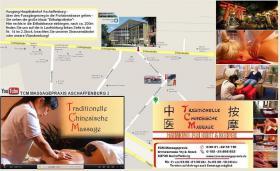 TCM Massagepraxis Aschaffenburg Anfahrt
