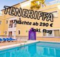 TENERIFFA Puerto de la Cruz 7Nächte ab 290€ inkl. Flug
