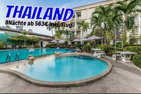 THAILAND Pattaya ROMEO PALACE  8 Nächte   ab 563€ inkl. Flug